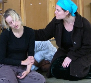 Sarah Hayton & Esther Hudson as Kim & Corinna.