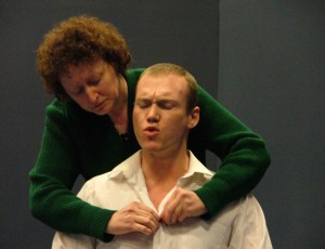 Janet Thompson & Tommy Dickinson as Nancy & Stuart.