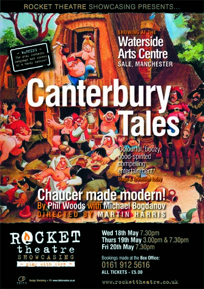 Canterbury Tales Poster.